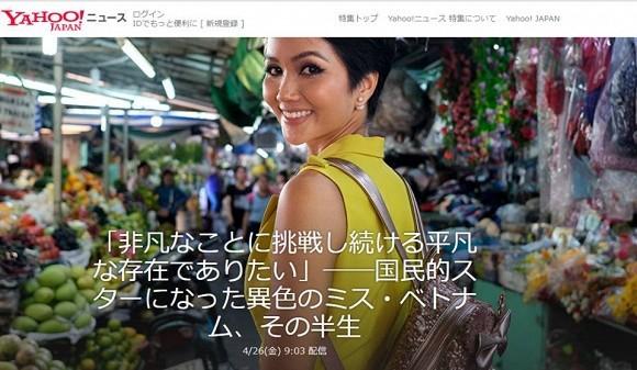 H'Hen Niê xuất hiện trên báo Nhật: Sự gần gũi cuối cùng đã 'ghi điểm' - Ảnh 1.
