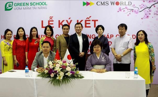 Lễ ký kết hợp đồng chuyển giao phương pháp giáo dục Nhật Bản - Hiroko Method tại Greenschool - Ảnh 1.