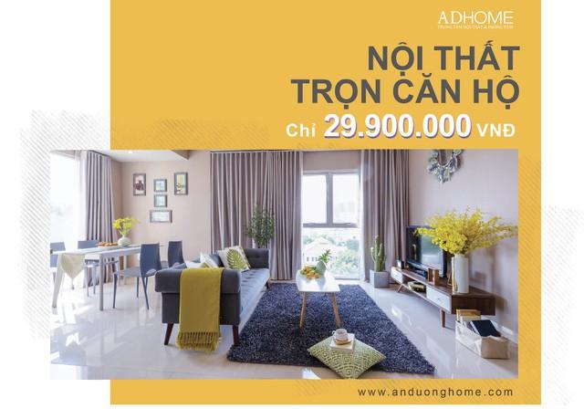 """""""Biến tấu"""" cảm hứng từ gói nội thất trọn căn hộ chỉ 29,900,000Vnd - Ảnh 1."""