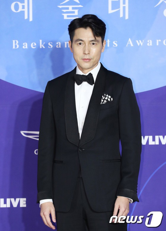 Thảm đỏ Baeksang 2019: Han Ji Min tái hợp bạn trai màn ảnh Hyun Bin, Nam Joo Hyuk - Jung Woo Sung - Ảnh 6.