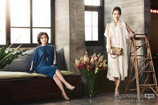 Nhìn bà mẹ đài các của Go Jun Hee, chúng ta sẽ hiểu vì sao