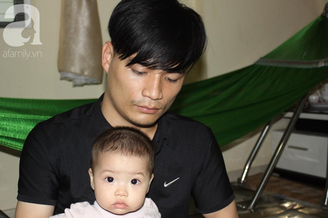 Xót cảnh bố mẹ trẻ tật nguyền đi làm thuê, gom góp tiền níu giữ mạng sống từng ngày cho con gái 9 tháng tuổi - Ảnh 6.