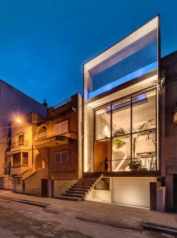 Ngắm kiến trúc nhà phố độc đáo với không gian hiện đại, có phòng tập thể dục, chiếu phim và hồ bơi trong suốt trên nóc nhà - Ảnh 16.