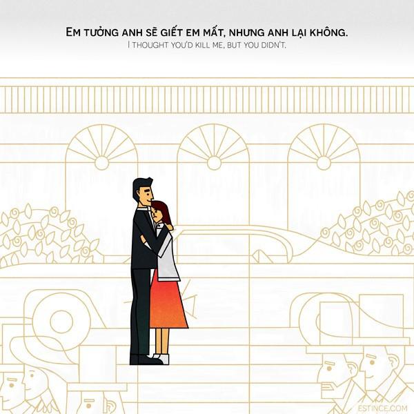 Nhưng anh lại không  - câu chuyện về người chồng yêu chiều vợ mọi điều, trừ việc trở về sau chiến tranh gây xúc động - Ảnh 4.