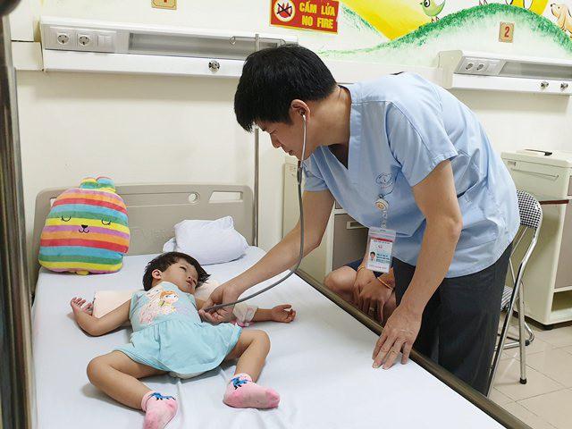 Cứu sống bệnh nhân nhi 3 tuổi người Lào bị bệnh tim phức tạp có nguy cơ tử vong cao - Ảnh 1.