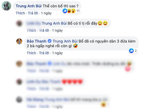 Phì cười với màn hội thoại ngoài đời thật của ông bố Trung Anh Về nhà đi con với 3 cô con gái Thu Quỳnh - Bảo Thanh - Bảo Hân  - Ảnh 3.