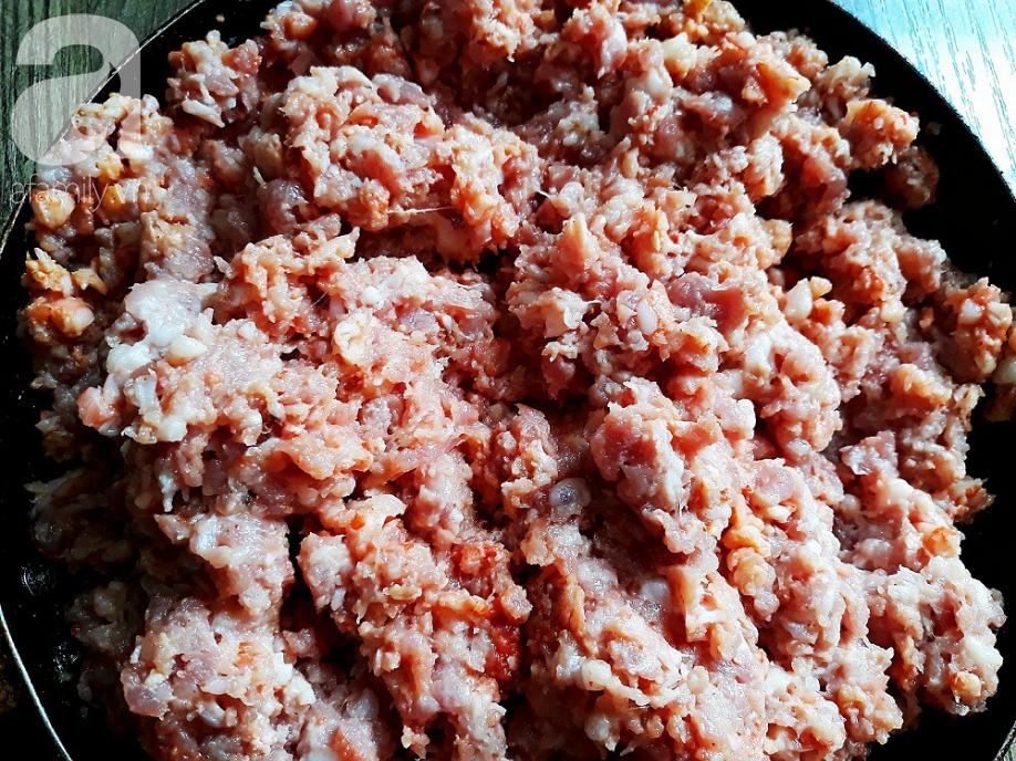 Cách làm mắm tép chưng thịt đơn giản đưa cơm - Ảnh 3.