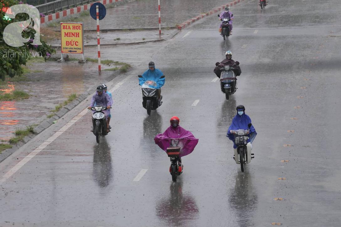 Mong mỏi đến hao mòn, cuối cùng Hà Nội cũng đã có mưa sau bao ngày nóng như chảo lửa - Ảnh 5.