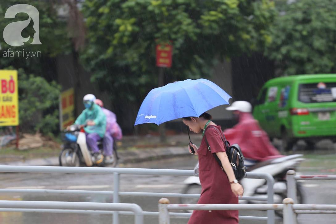 Mong mỏi đến hao mòn, cuối cùng Hà Nội cũng đã có mưa sau bao ngày nóng như chảo lửa - Ảnh 8.