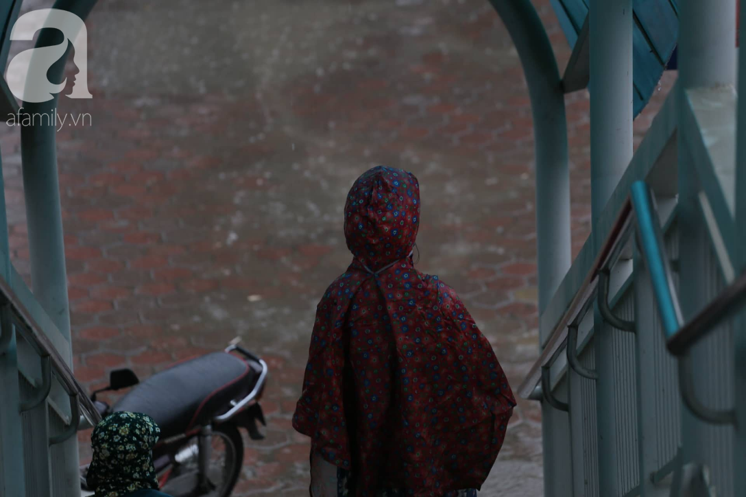 Mong mỏi đến hao mòn, cuối cùng Hà Nội cũng đã có mưa sau bao ngày nóng như chảo lửa - Ảnh 10.