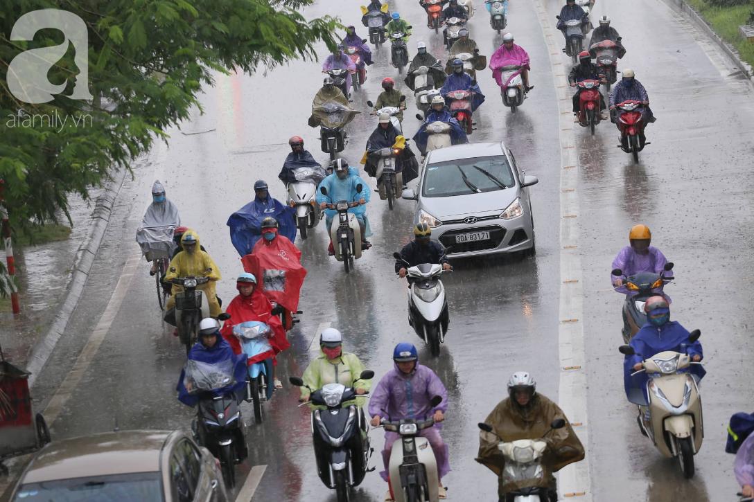 Mong mỏi đến hao mòn, cuối cùng Hà Nội cũng đã có mưa sau bao ngày nóng như chảo lửa - Ảnh 2.