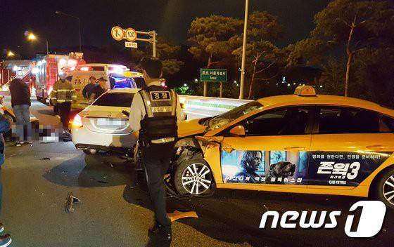 Han Ji Seong nhậu nhẹt trước khi bị 2 xe hơi đâm chết, cảnh sát: Người chồng hiện không phải là nghi phạm - Ảnh 5.
