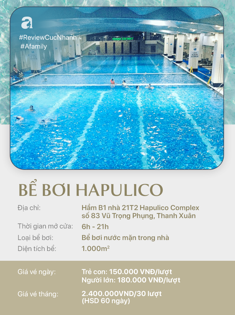 Hè đến rồi, cùng review nhanh các bể bơi ở Hà Nội để chọn chỗ bơi cho con nào  - Ảnh 12.