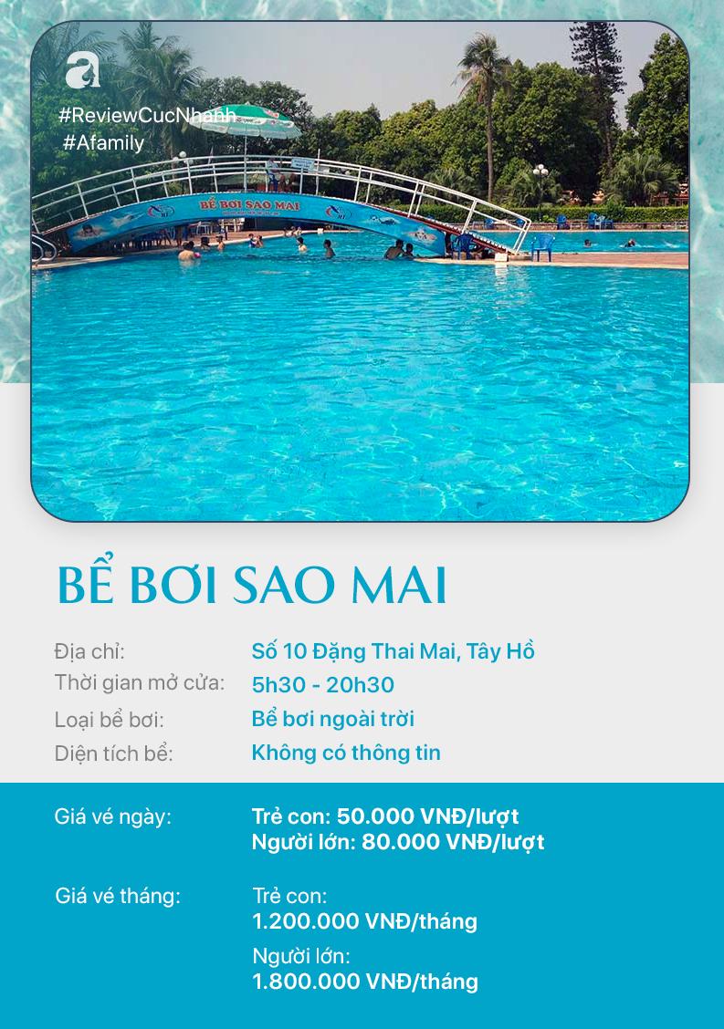 Hè đến rồi, cùng review nhanh các bể bơi ở Hà Nội để chọn chỗ bơi cho con nào  - Ảnh 5.