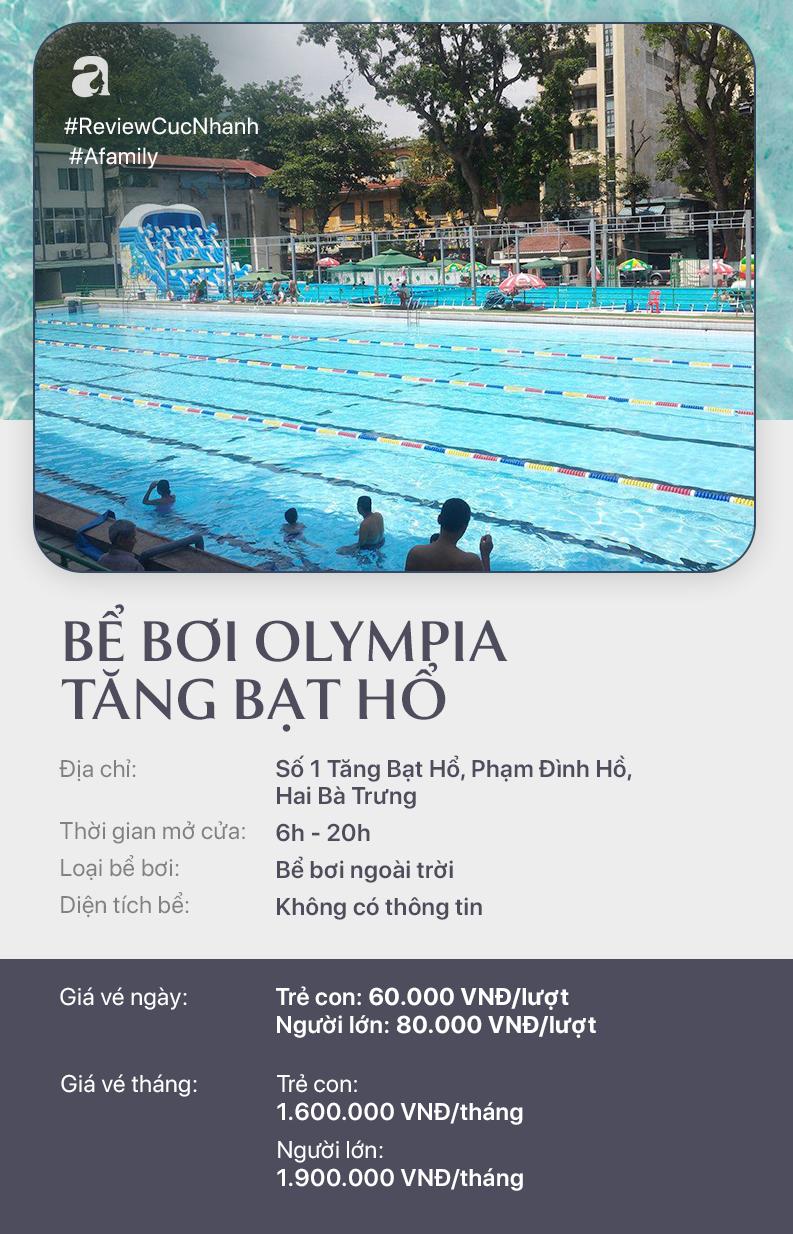 Hè đến rồi, cùng review nhanh các bể bơi ở Hà Nội để chọn chỗ bơi cho con nào  - Ảnh 6.