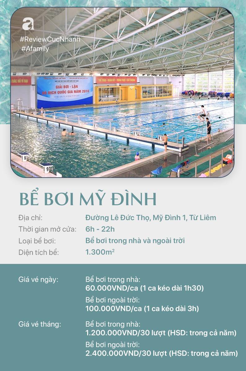 Hè đến rồi, cùng review nhanh các bể bơi ở Hà Nội để chọn chỗ bơi cho con nào  - Ảnh 8.