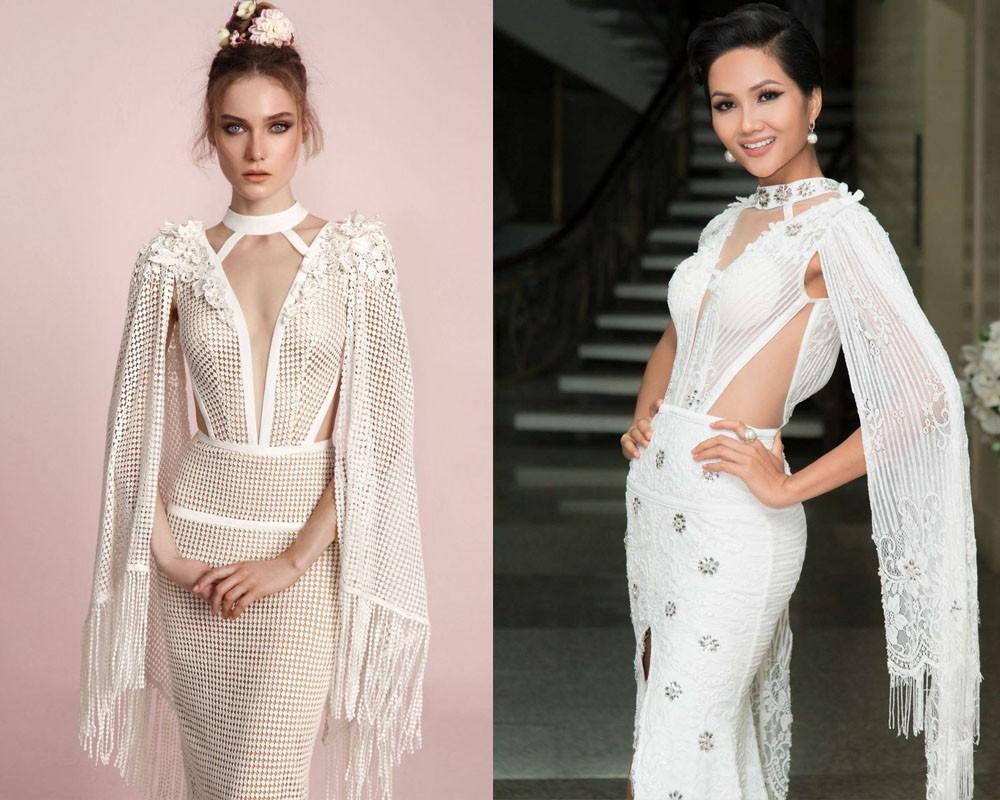 Thương hiệu váy cưới nước ngoài tố NTK Việt đạo nhái, nhưng tội nhất là HHen Niê khi bị lôi vào lùm xùm này  - Ảnh 4.