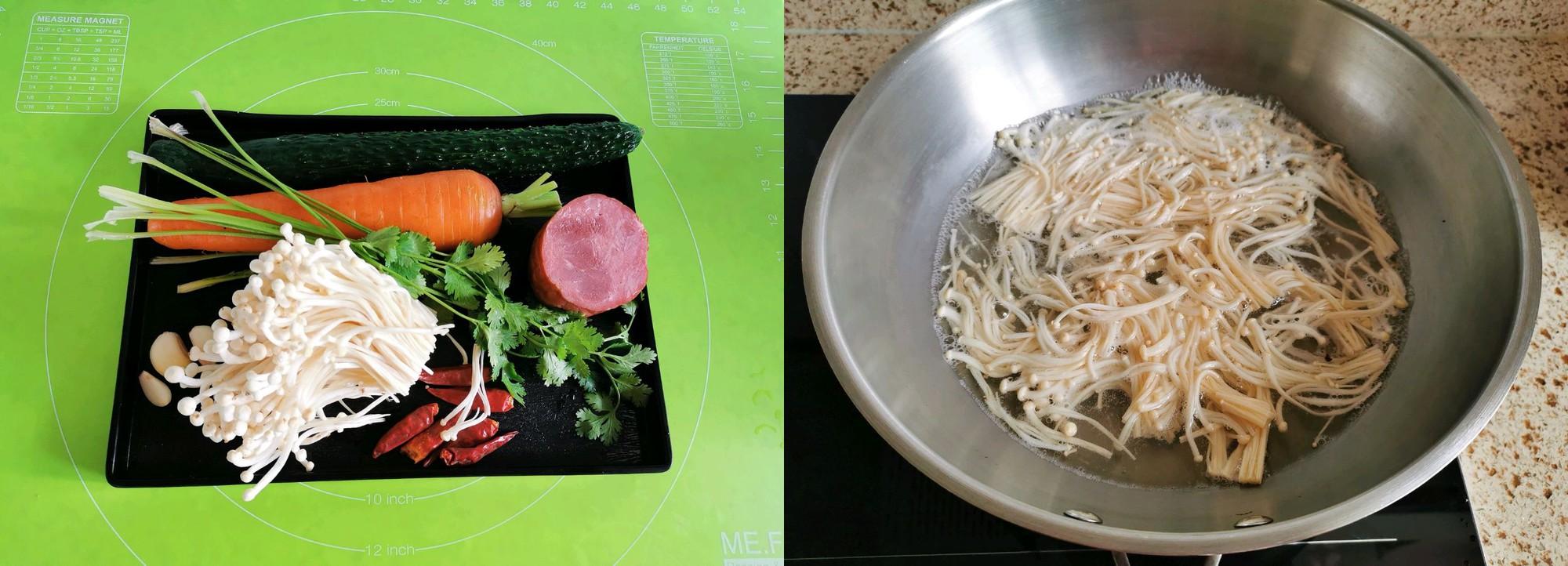 Ăn kiêng giảm cân không thể không biết đến món nấm trộn ngon xuất sắc này - Ảnh 1.