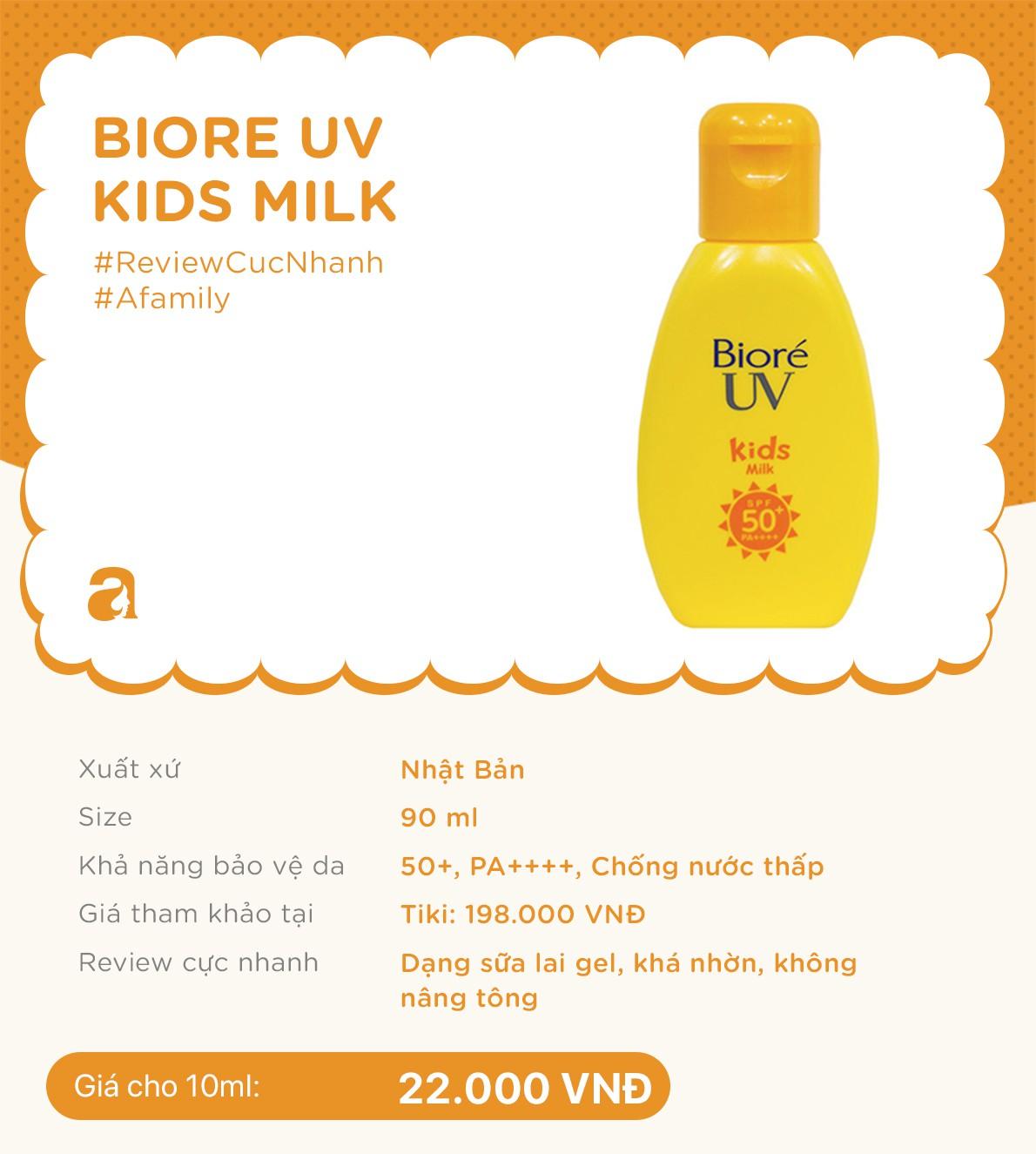 Review nhanh 10 lọ kem chống nắng dành cho trẻ em giá từ 70k đến 700k  - Ảnh 6.