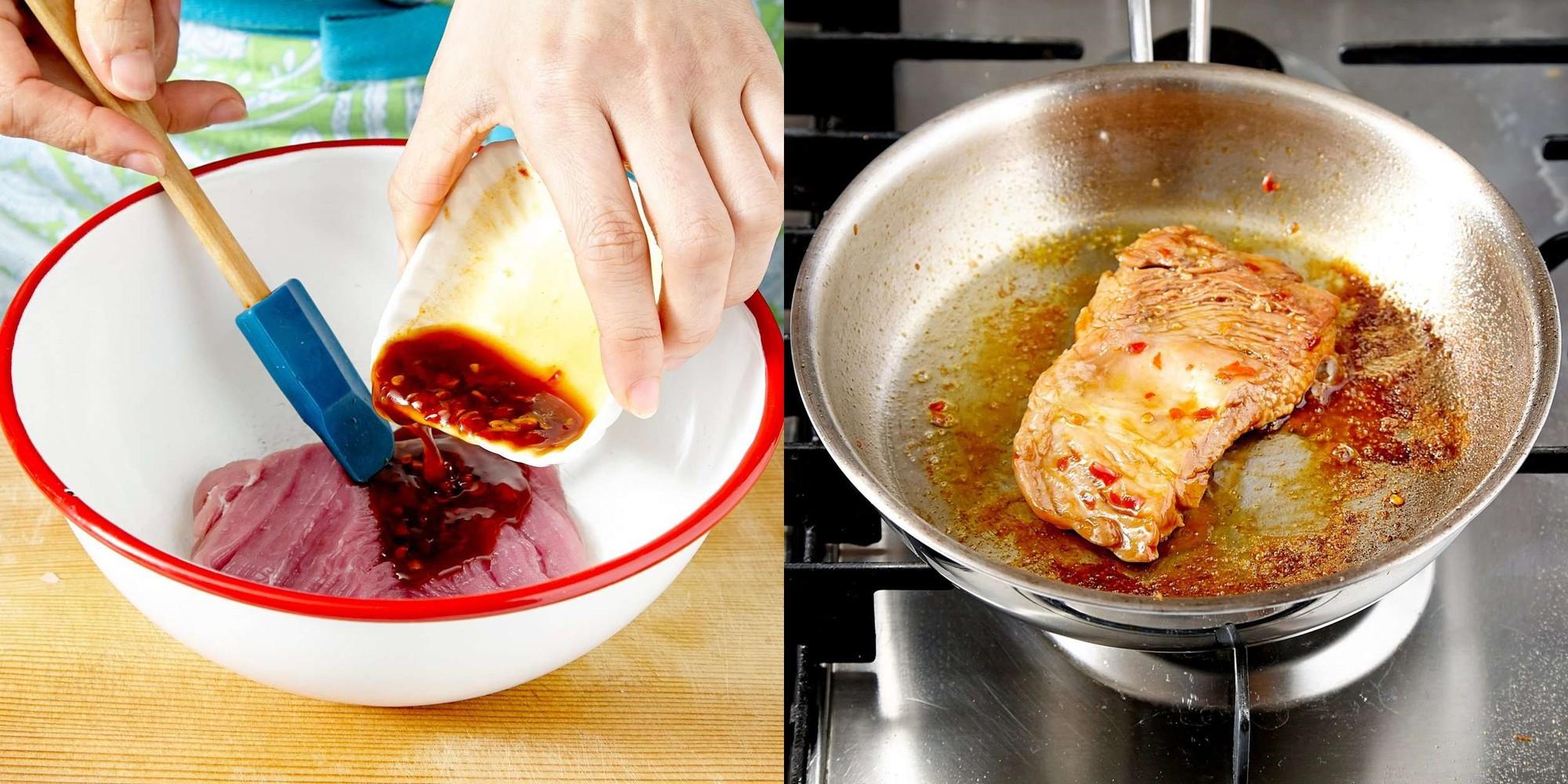 Bí quyết nhỏ cho món thịt áp chảo chuẩn 10 mềm ngon đúng điệu - Ảnh 3.