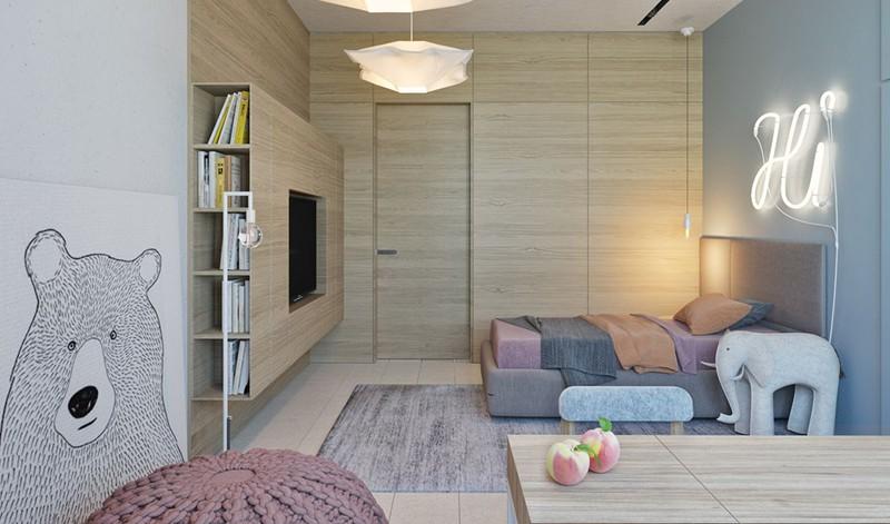 Ấn tượng với cách thiết kế phòng ngủ độc đáo cho trẻ - Ảnh 1.