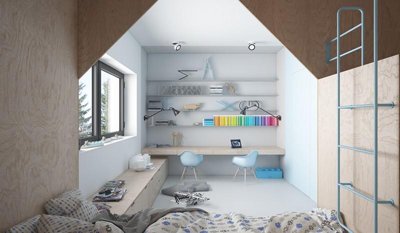 Ấn tượng với cách thiết kế phòng ngủ độc đáo cho trẻ - Ảnh 10.