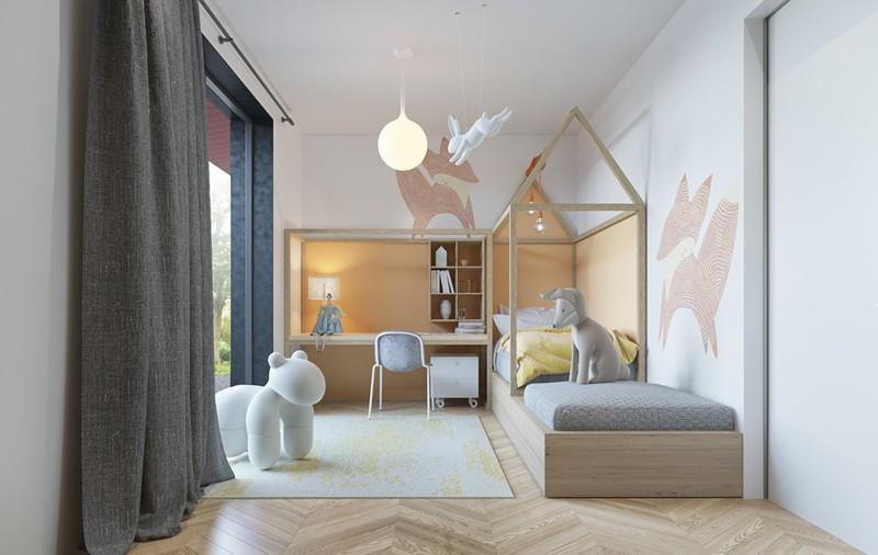 Ấn tượng với cách thiết kế phòng ngủ độc đáo cho trẻ - Ảnh 2.