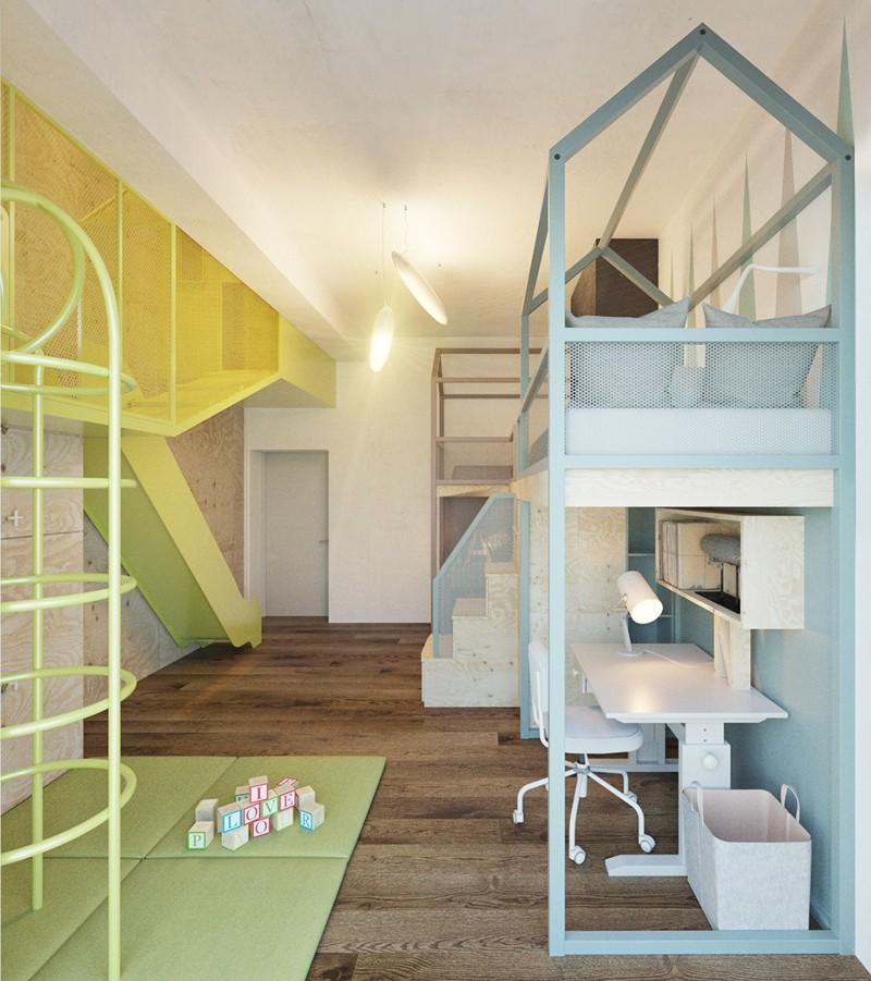 Ấn tượng với cách thiết kế phòng ngủ độc đáo cho trẻ - Ảnh 8.