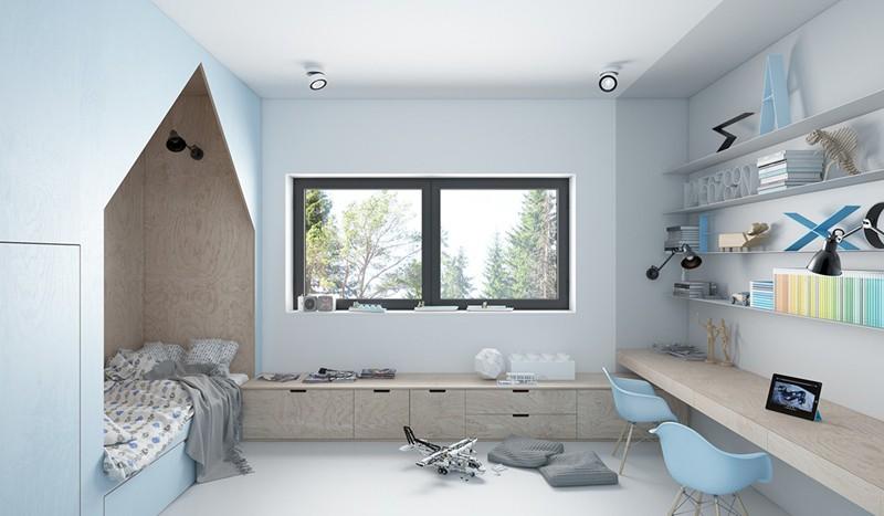 Ấn tượng với cách thiết kế phòng ngủ độc đáo cho trẻ - Ảnh 9.
