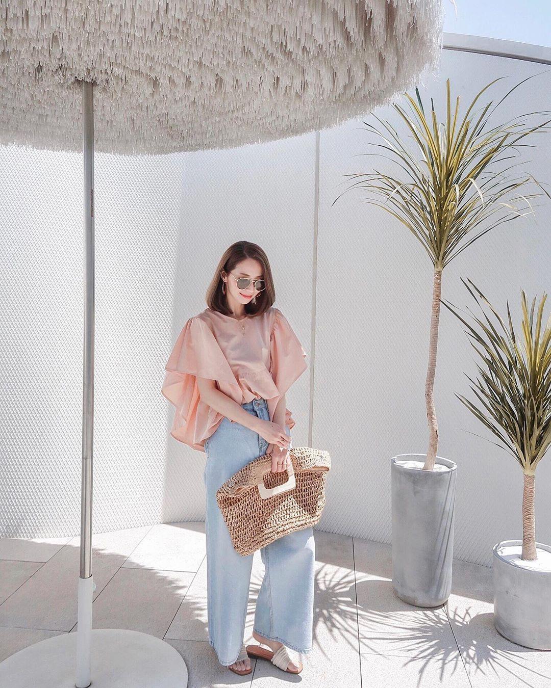 Nô nức diện váy thô mùa hè cho mát, muốn mặc đẹp hãy tham khảo 15 bộ đồ từ street style Châu Á này - Ảnh 15.