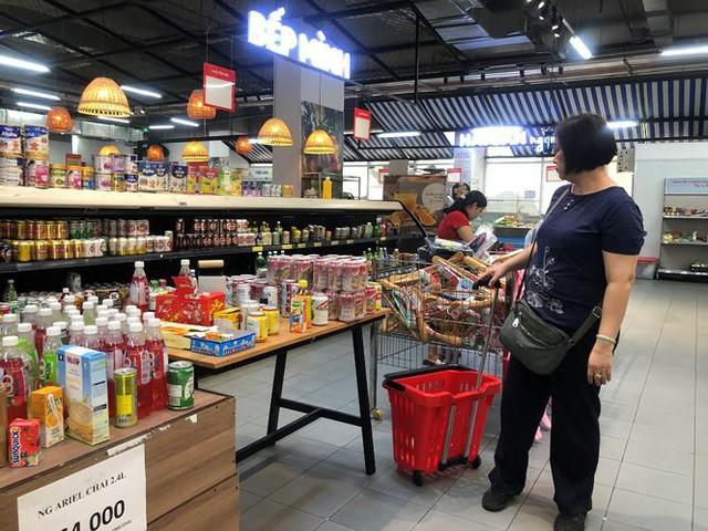 Hình ảnh siêu thị Auchan sau nhiều ngày tháo khoán rút khỏi Việt Nam - Ảnh 1.