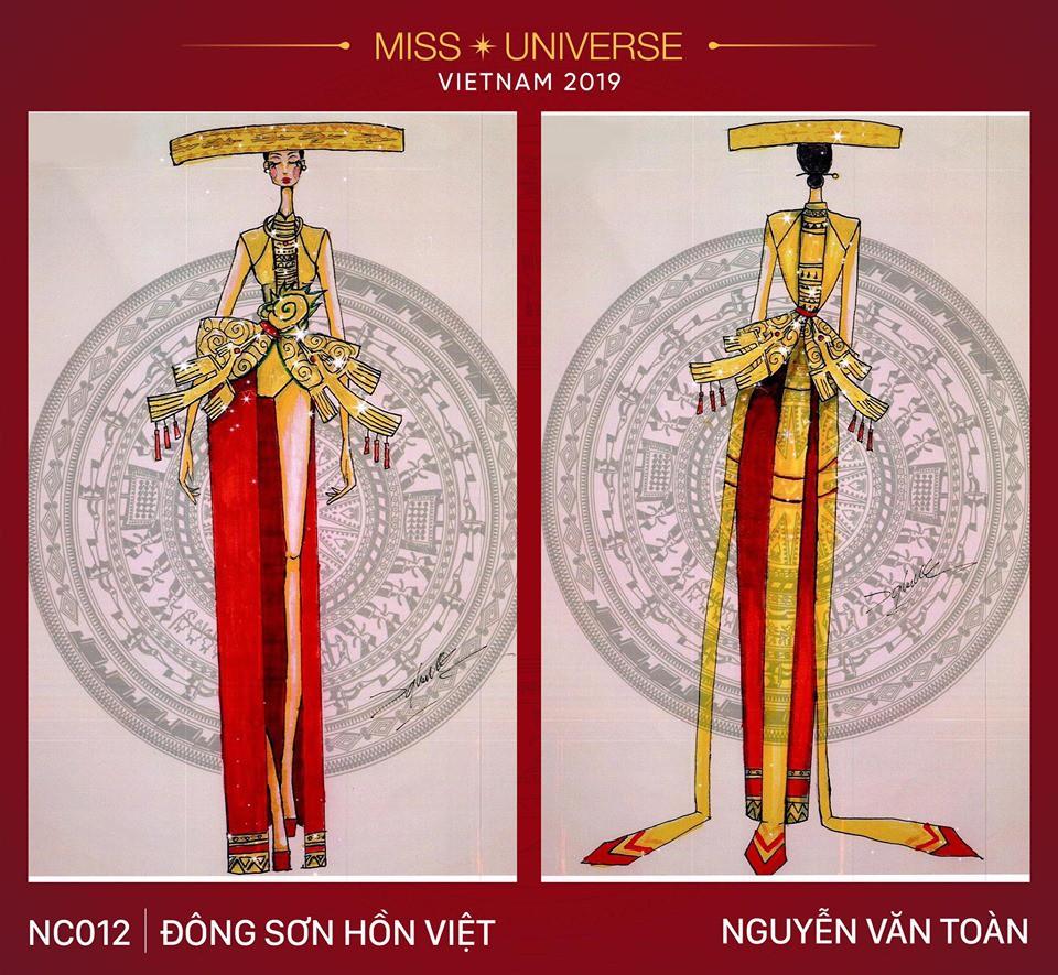 Hoàng Thùy không chỉ có trang phục Bàn Thờ, còn cả thiết kế chuồn chuồn, trâu hay cà phê phin để cân nhắc - Ảnh 17.