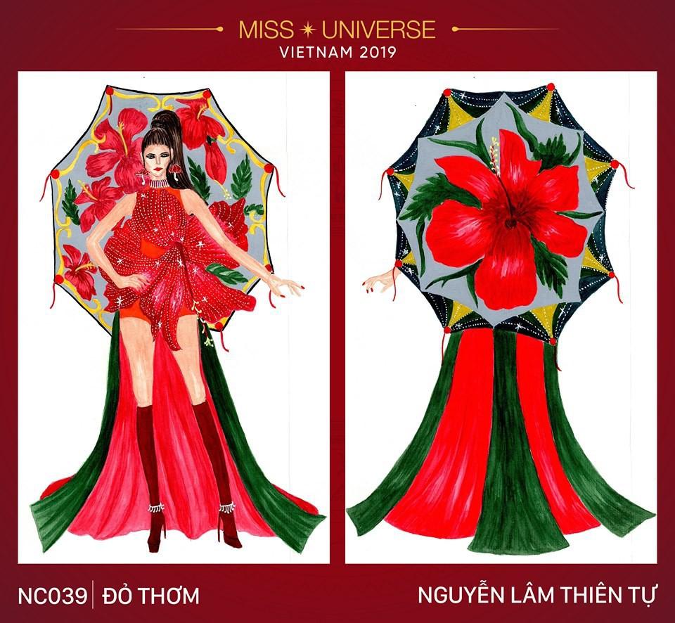 Hoàng Thùy không chỉ có trang phục Bàn Thờ, còn cả thiết kế chuồn chuồn, trâu hay cà phê phin để cân nhắc - Ảnh 20.