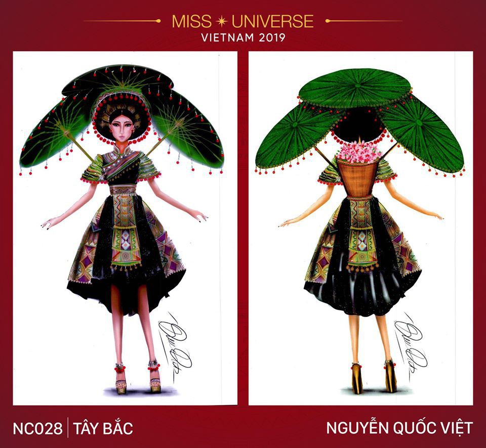 Hoàng Thùy không chỉ có trang phục Bàn Thờ, còn cả thiết kế chuồn chuồn, trâu hay cà phê phin để cân nhắc - Ảnh 6.