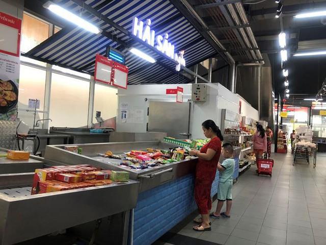 Hình ảnh siêu thị Auchan sau nhiều ngày tháo khoán rút khỏi Việt Nam - Ảnh 6.