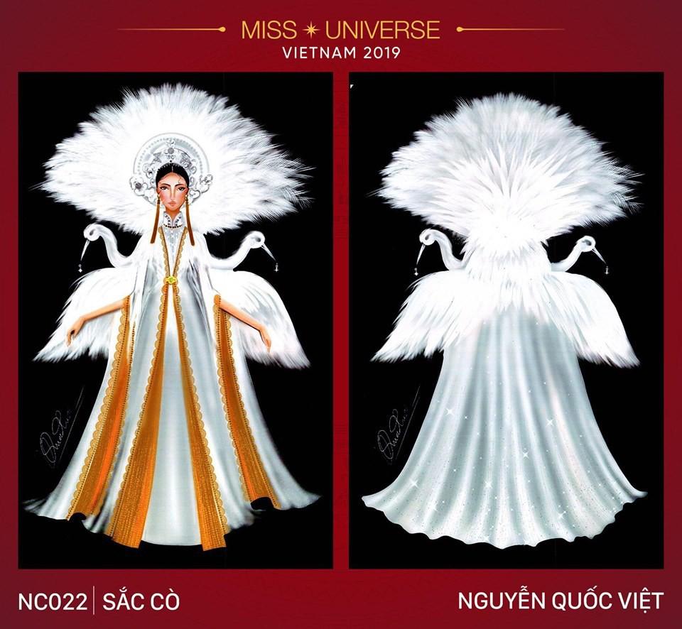 Hoàng Thùy không chỉ có trang phục Bàn Thờ, còn cả thiết kế chuồn chuồn, trâu hay cà phê phin để cân nhắc - Ảnh 8.