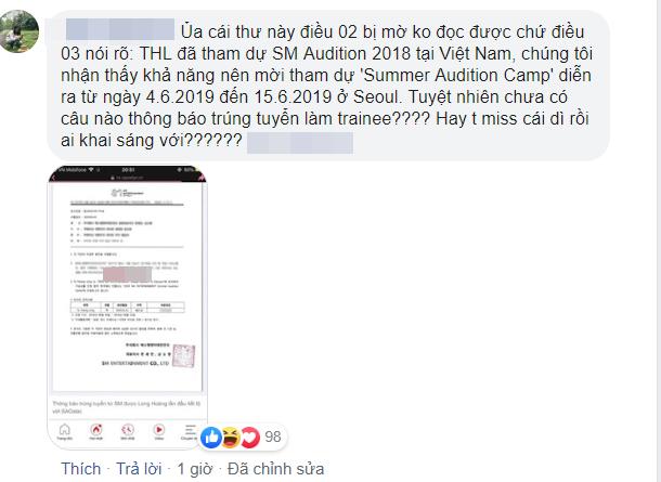 """Vừa thông báo trúng tuyển """"lò đào tạo idol"""" Hàn Quốc, Long Hoàng lại đăng status như trò đùa khiến dân mạng nổi đóa - Ảnh 3."""