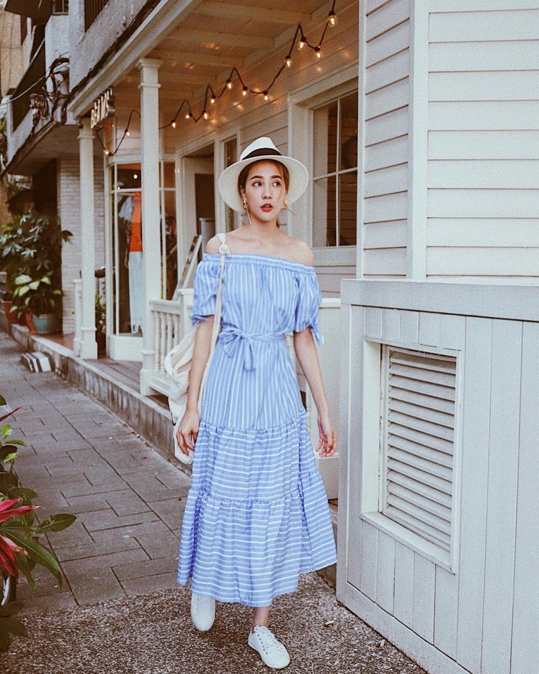 5 mẫu váy tuyệt xinh điệu đà cho mùa hè