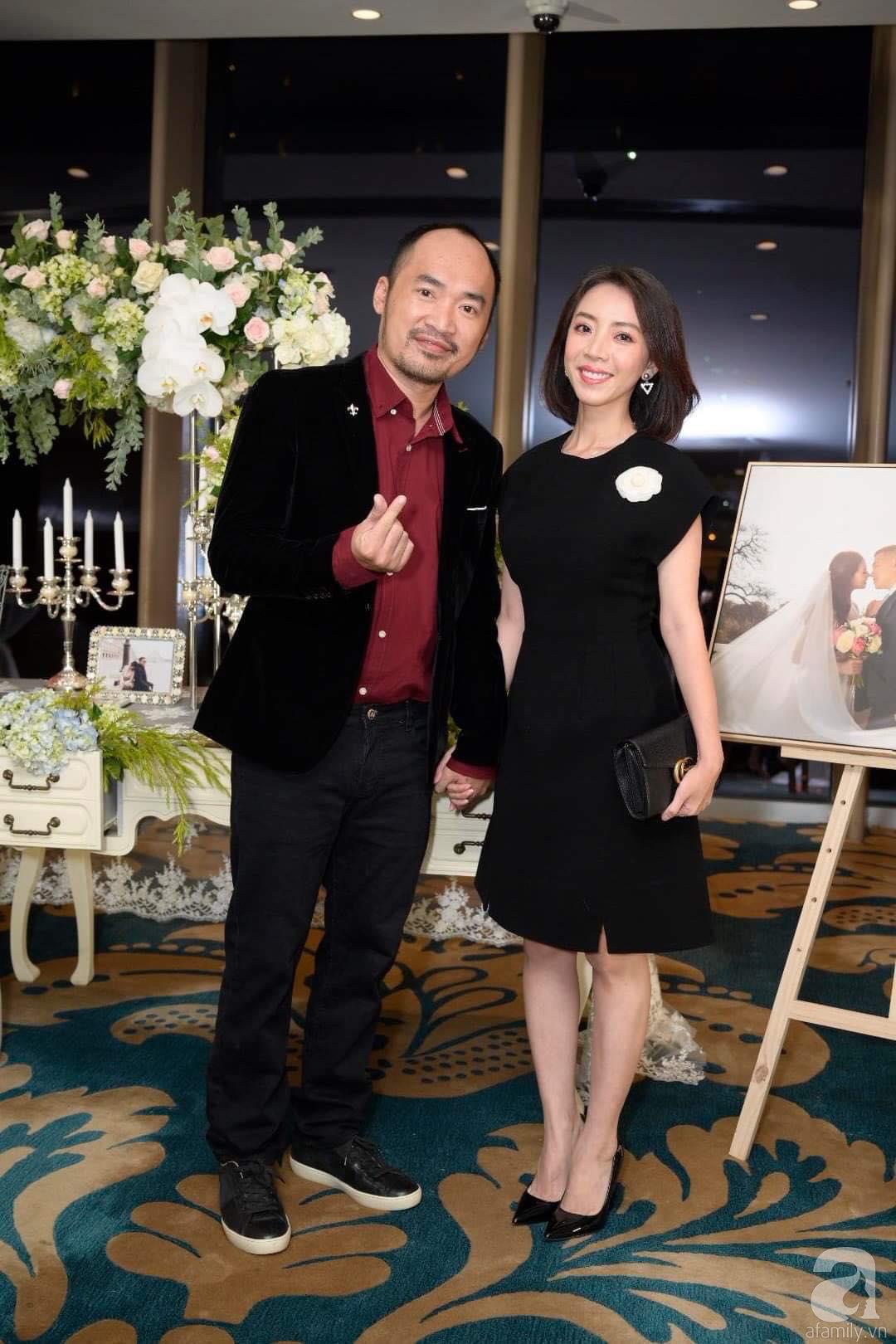 Trấn Thành - Hari Won, Ninh Dương Lan Ngọc cùng loạt sao Việt đến sự đám cưới đạo diễn Cua lại vợ bầu - Ảnh 5.