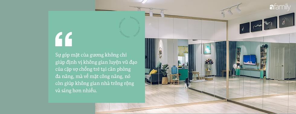 Căn hộ xanh bạc hà đẹp như mơ và chuyện cặp vợ chồng vũ công đi khắp Sài Gòn tự tay sắm sửa cho ngôi nhà hạnh phúc - Ảnh 4.