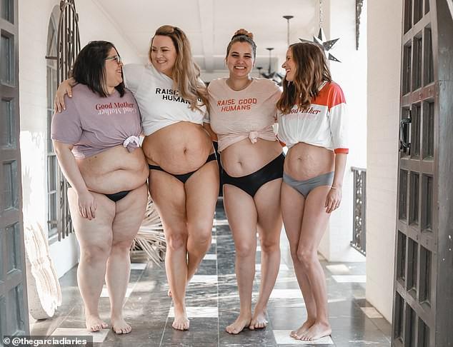 Hội bạn thân bỉm sữa quyết tâm chụp bộ ảnh chân thật, trần trụi đến từng chi tiết để đập tan những quan điểm cứng nhắc và xấu xí về phụ nữ sau sinh - Ảnh 3.
