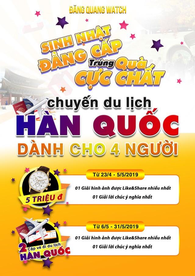 Đăng Quang Watch - sale 40% mừng sinh nhật 10 năm - Ảnh 1.