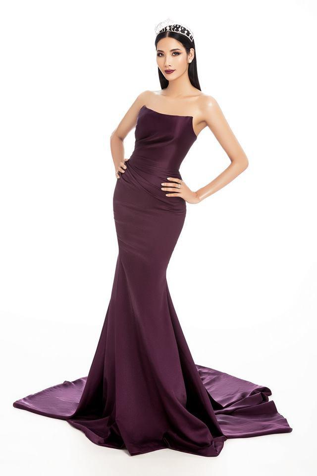 Tung ảnh mới chinh chiến Miss Universe nhưng hóa ra, Hoàng Thùy mặc đầm cũ của Đỗ Mỹ Linh và Hương Giang - Ảnh 2.