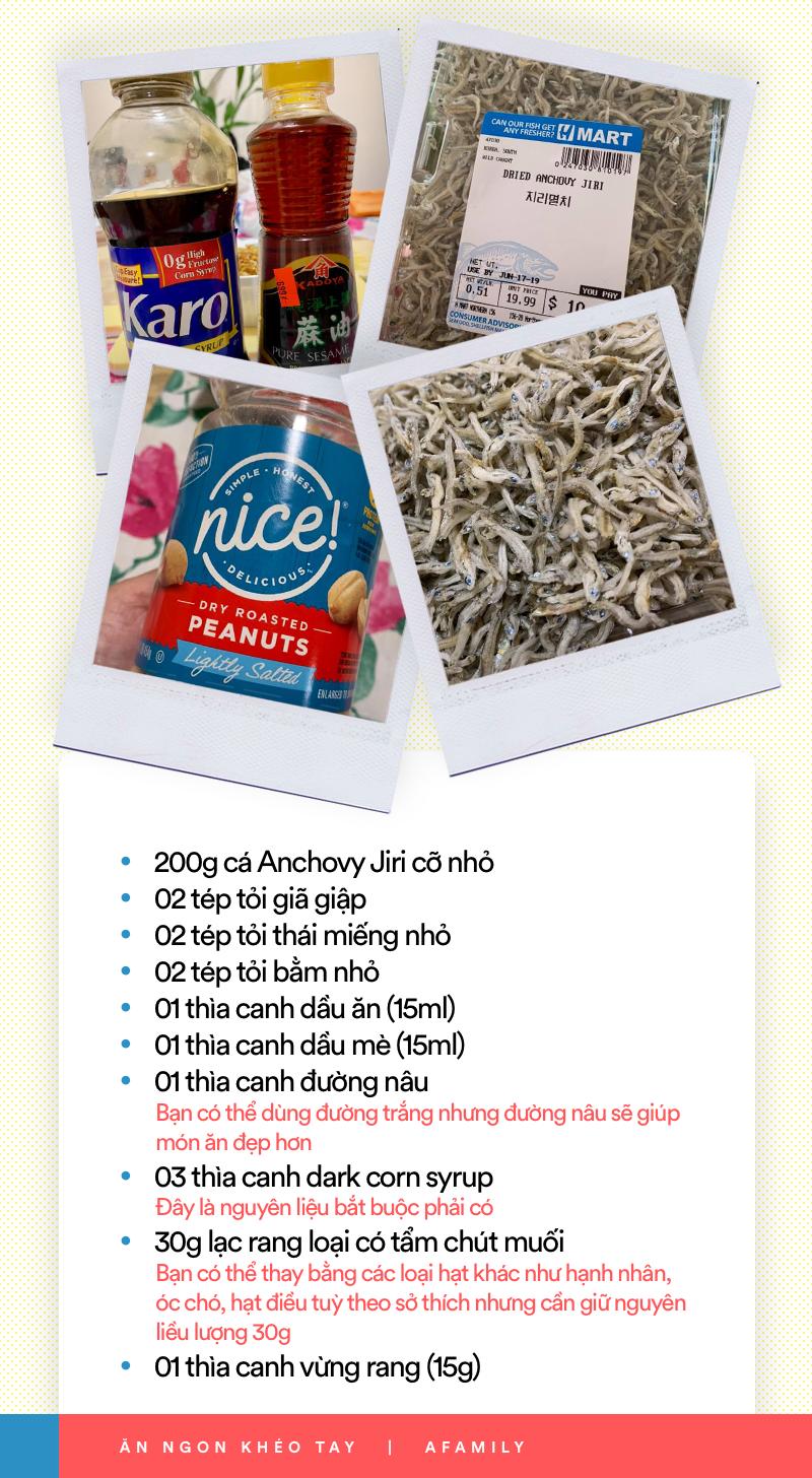 Xem ngay món cá Anchovy Hàn Quốc rang vừa đậm vị lại giòn ngọt thơm ngon cho thực đơn cơm tối ngày mưa - Ảnh 1.