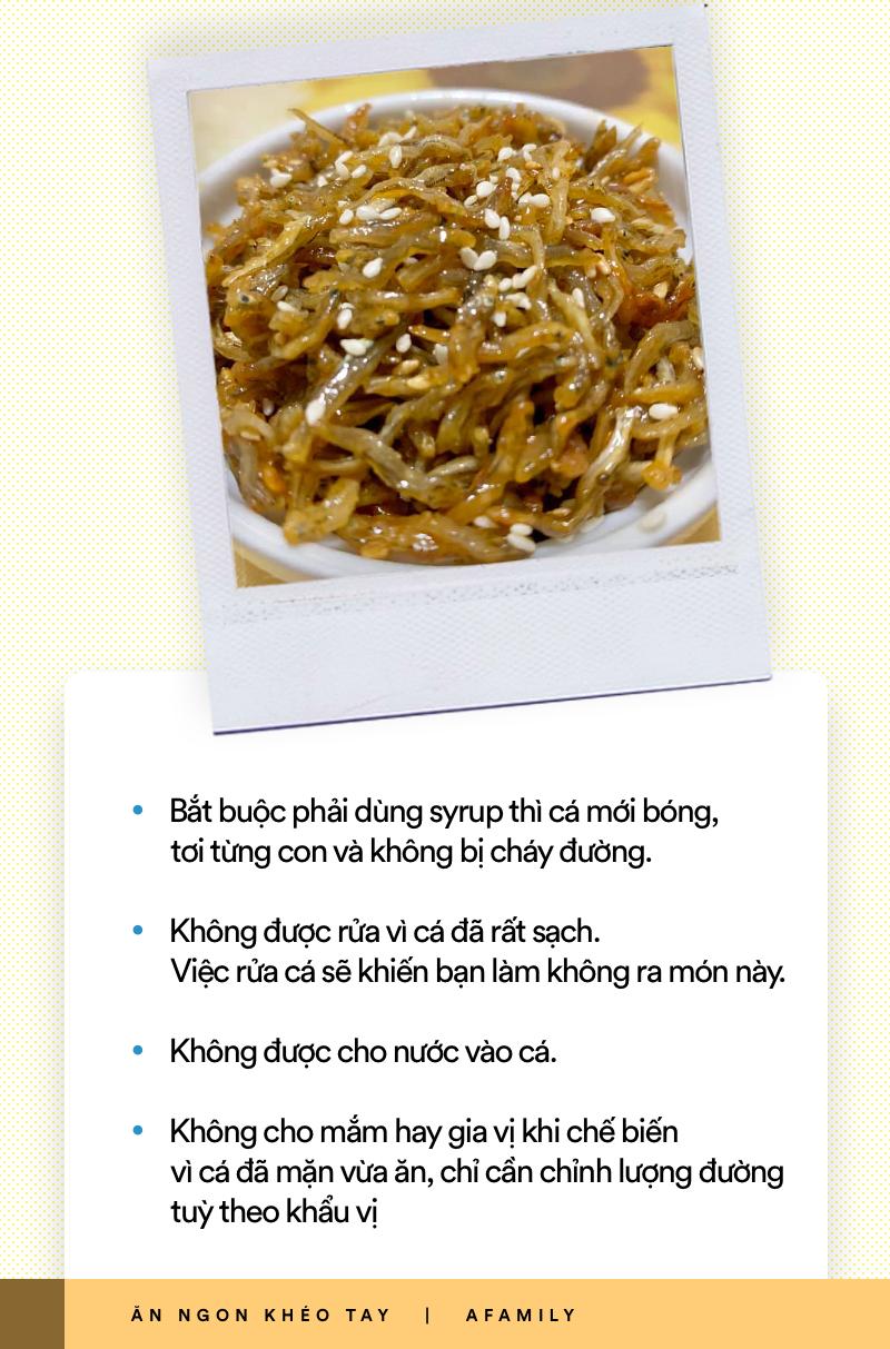 Xem ngay món cá Anchovy Hàn Quốc rang vừa đậm vị lại giòn ngọt thơm ngon cho thực đơn cơm tối ngày mưa - Ảnh 5.