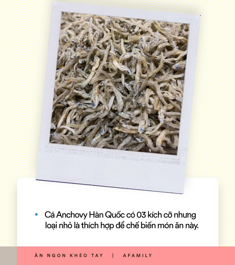 Xem ngay món cá Anchovy Hàn Quốc rang vừa đậm vị lại giòn ngọt thơm ngon cho thực đơn cơm tối ngày mưa - Ảnh 6.