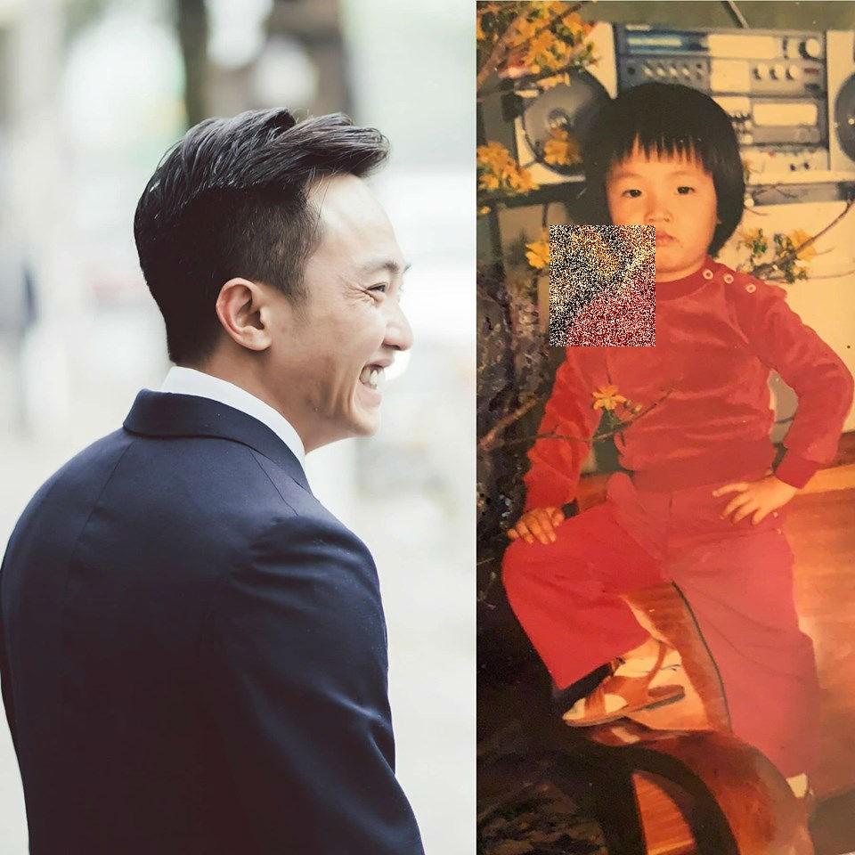 Bị Đàm Thu Trang lôi ảnh thời thơ ấu ra dìm hàng, Cường Đô La có hành động đáp trả không thể ngọt ngào hơn - Ảnh 2.