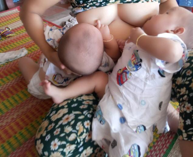 Hành trình thai kỳ gian nan, sinh xong còn khổ cực gấp 10 lần của mẹ mang thai 3 - Ảnh 8.