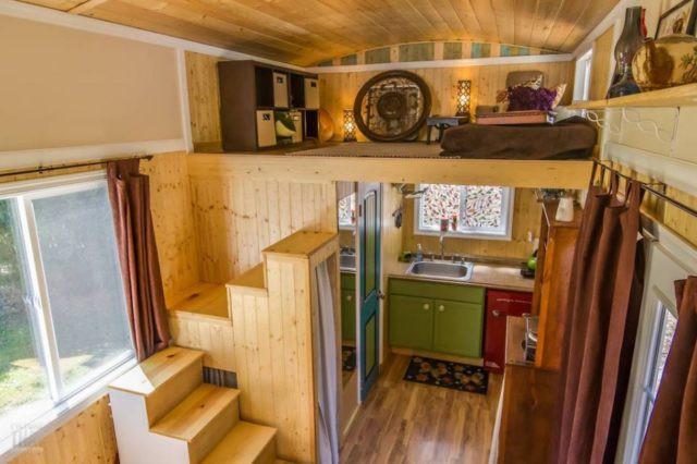 Bất ngờ với nhà gỗ mini đủ đầy các chức năng cho cuộc sống thường ngày - Ảnh 8.
