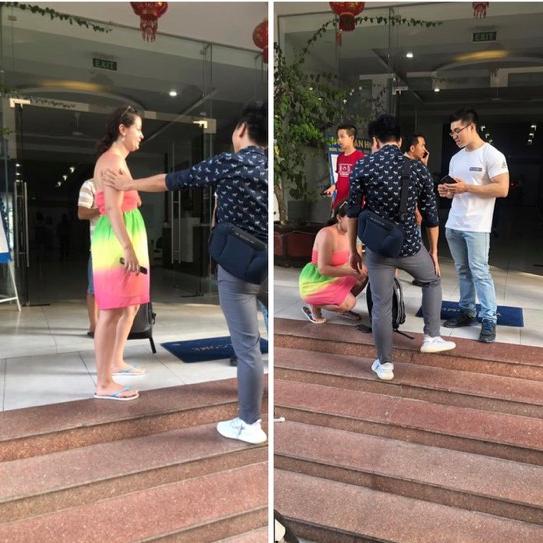 Du khách nước ngoài khóc thảm thiết vì bị mất túi xách ở Nha Trang và cái kết bất ngờ đầy tính nhân văn - Ảnh 4.